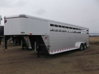 Sundowner Rancher 20' and 24' Stock Trailers