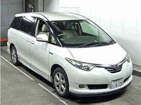 FRESH IMPORT NEW SHAPE 56 PLATE TOYOTA ESTIMA PREVIA PRIUS HYBRID 2.4 4WD AUTO