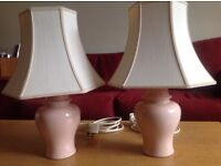 Pair of M&S table lamps