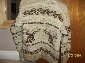 2 Cowichan wool Sweaters