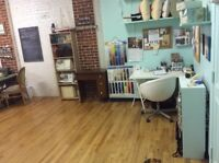 Sewing studio / work room to sublet