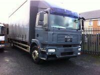 MAN truck spares or repairs