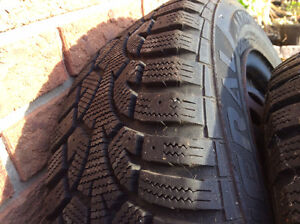 Two winter tires Cornwall Ontario image 2