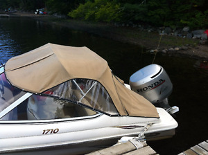Sold PPU Excellent condition- Honda 115 HP - Nordic 1710 boat