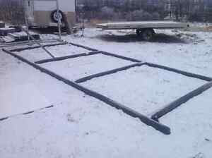Steel skid, cabin frame, shed, sea can....