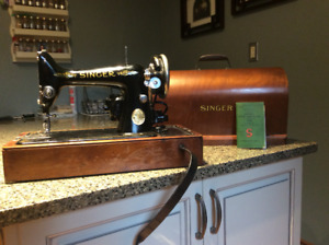 Antique Singer Electric Sewing Machine - 1947