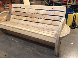 Reclaimed Wood Benches and Chairs