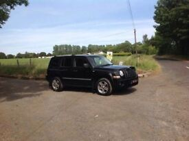 24/7 Trade sales NI Trade Prices for the public 2008 Jeep Patriot 2.0 CRD Limited 6 Speed Black