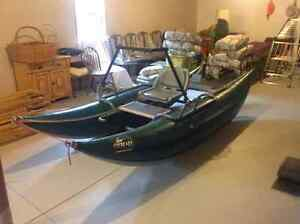 Personal inflatable drift boat