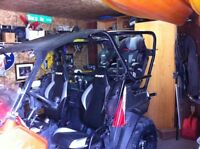 Rear seat roll bar system for rzr 800 $1500 obo