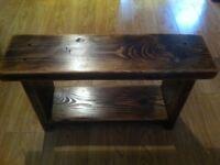 Small 'Jacobean' Bench