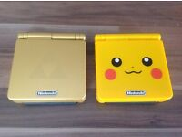 Nintendo GaneBoy Advance SP's & Game