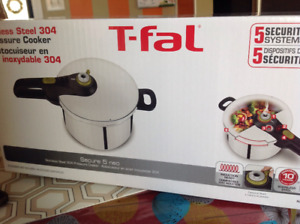 T-Fal Stainless Steel 304 Pressure Cooker