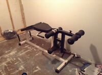 Excersise equipment and weights