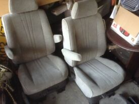 Two Swivel Seats Captains suit Van Camper Van Toyota