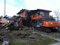 House Demolition / Excavating Calgary & Area Free Estimates