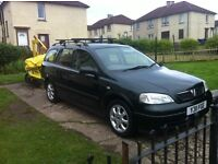 Vauxhall astra 1.6ls estate for sale