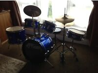 5 piece Tiger junior drum kit
