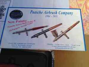 PAASCHE AIRBRUSH SET MODEL# H SET BRAND NEW Cambridge Kitchener Area image 6