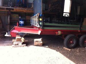 Remorque trailer forestier