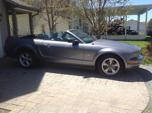 2007 Ford Mustang Convertible Pony Package
