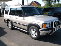 2001 (51) Land Rover Discovery 2.5Td5 ( 7 st ) auto GS