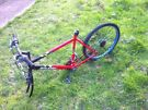 Raleigh mountain bike non working