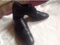Aldo men's casual shoes leather size: 42 used £10
