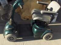Victory mobility 4 wheel scooter, $495.00
