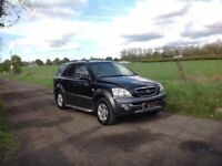 24/7 Trade sales NI Trade Prices for the public 2006 Kia Sorento 2.5 XE Black over grey Full mot