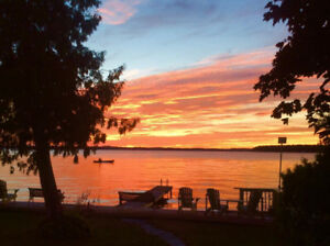 Cozy two bedroom furnished house for rent on Sturgeon Lake