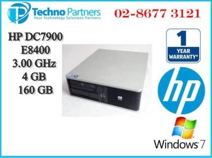 HP DC7900 SFF Desktop Computer E8400 3GHz 4G 160G DVD-RW Wn 7 Pro