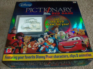 Disney Pictionary DVD Game-complete, excellent condition London Ontario image 1