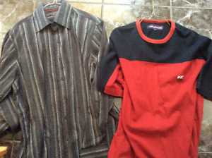 point zero 4 casual shirts and 1 t-shirt