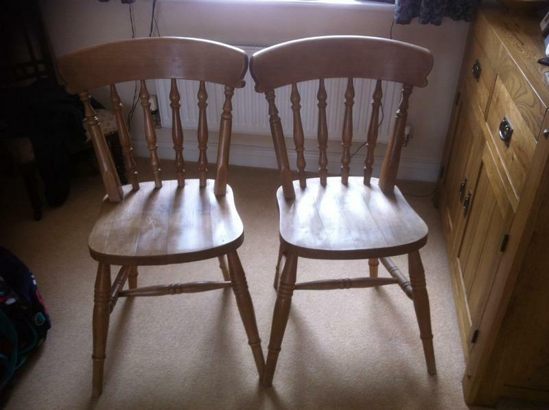 pine chairs for sale in beer devon gumtree