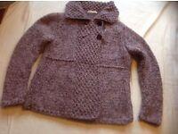 Alison Beaver ladies jacket wool size: 12/14 used £2