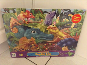 """REPTILE LIFE"" JIGSAW PUZZLE and MORE....BRAND NEW!!!"