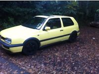 Rare vw golf Gti 8v colour concept with summer and winter pack