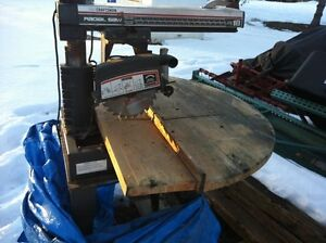 Radial Saw - Sears Craftsman