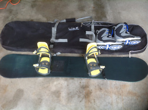 Complete Snowboard Package $150