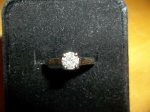 1/2 Carat White Gold Engagement Ring New/Never worn