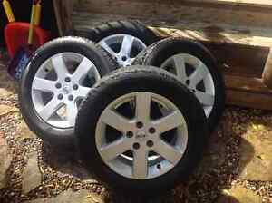 Michelin HydroEdge tires and rims