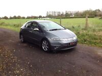 24/7 Trade sales NI Trade Prices for the public 2006 Honda Civic 2.2 CTDI Sport 5 door full mot