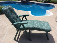 Cushions for lounge chairs - Coussins pour chaise longue