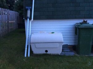 Centrex 2000 composter and toilet