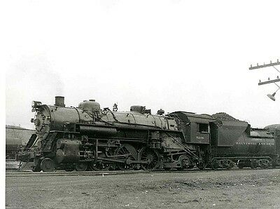 PP602 RP 1940-50s? B&O RR TRAIN ENGINE #5238