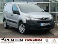 2017 Citroen Berlingo 1.6 BlueHDi 850 Enterprise L1 5dr Panel Van Diesel Manual