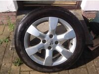 """16"""" PEUGEOT 307 EQUINOX ALLOY WHEELS (ONLY 3 OF THESE) PCD 4x108 FITMENT"""