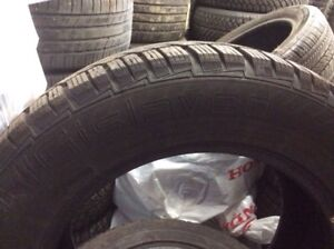 (4)Gislaved Nord Frost 225/65R17 hiver 8/32