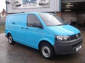 2011 61 VW TRANSPORTER T30 TDI 4MOTION 4X4 140BHP 6 SPEED WITH AIR CON IN BLUE